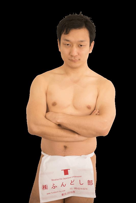 代表取締役星野雄三の全身写真