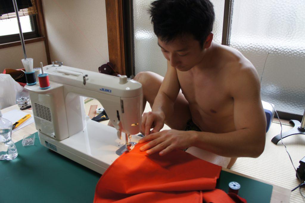 ふんどし裁縫