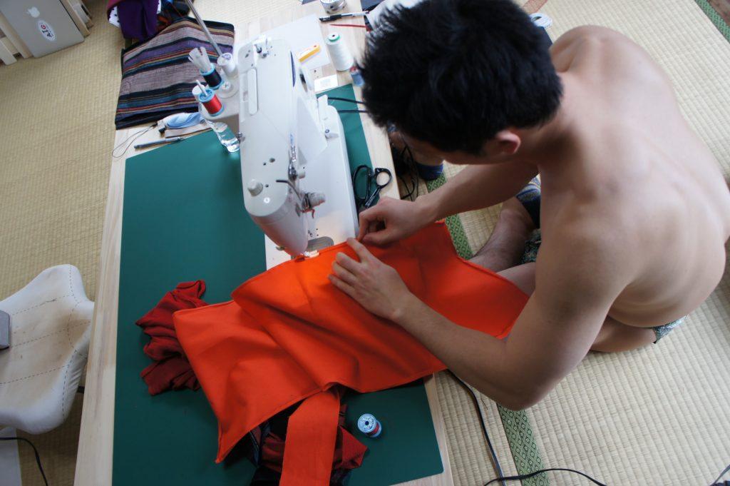 ふんどし裁縫2