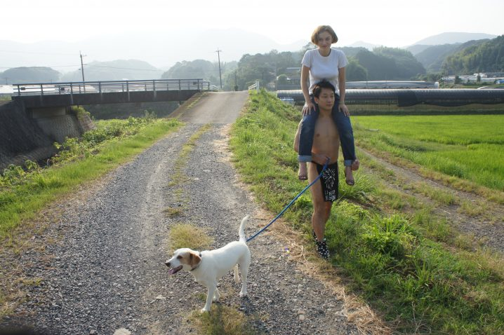 fundoshiman-taking-dog-and-jane-for-a-walk-2