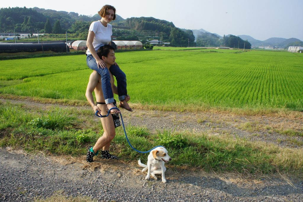 fundoshiman-taking-dog-and-jane-for-a-walk-3