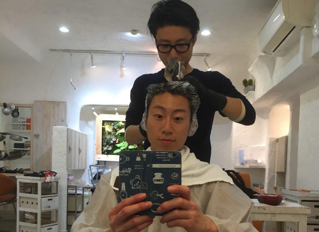 fundoshiman-hairdyeing