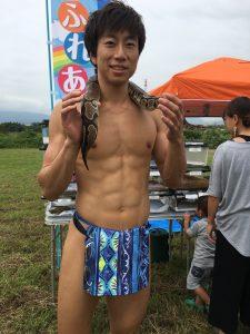 fundoshiman-with-snake