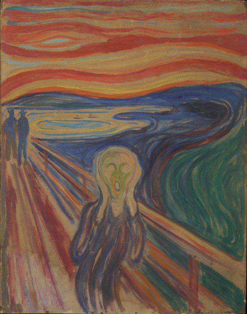 The-scream-by-the-Munch