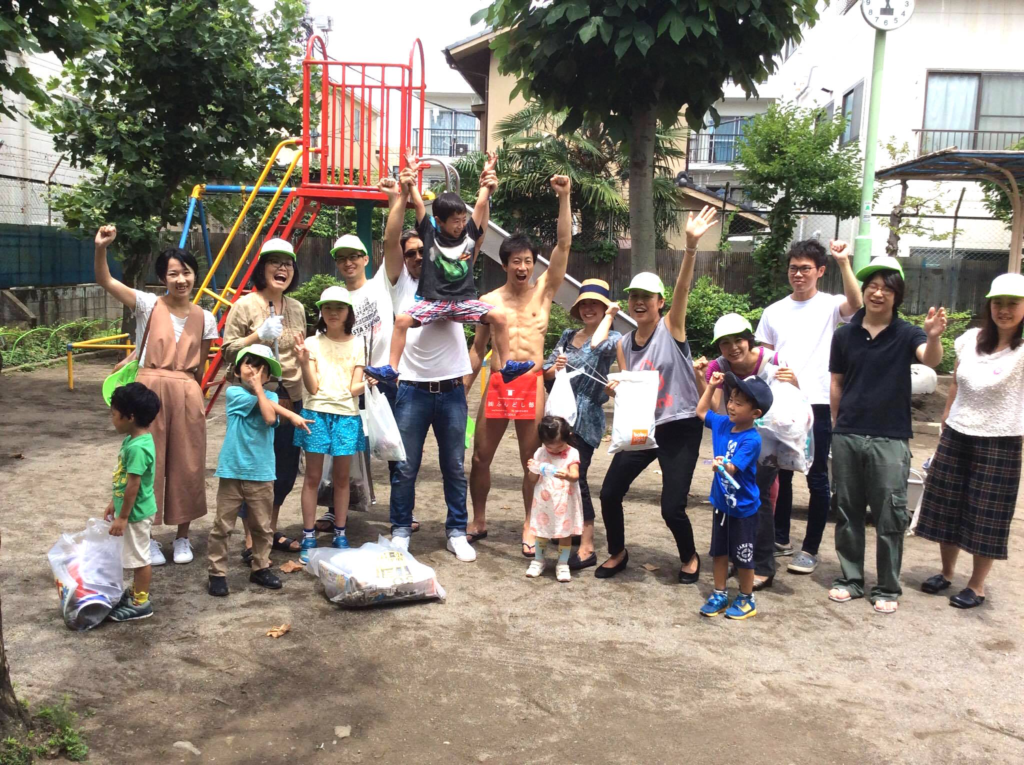 fundoshigentleman-cleanup-bunkyo-park